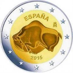 Spanje 2 euro 2015 'Cave of Altamira'