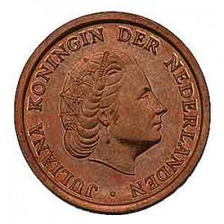 Koninkrijksmunten Nederland 1 cent 1958