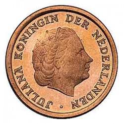 Koninkrijksmunten Nederland 1 cent 1961