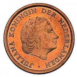 Koninkrijksmunten Nederland 1 cent 1962