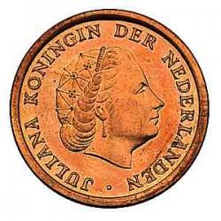 Koninkrijksmunten Nederland 1 cent 1963