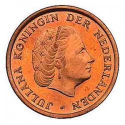 Koninkrijksmunten Nederland 1 cent 1965