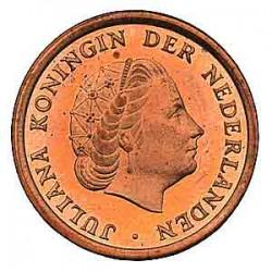Koninkrijksmunten Nederland 1 cent 1966