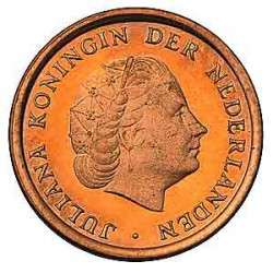 Koninkrijksmunten Nederland 1 cent 1968