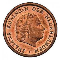 Koninkrijksmunten Nederland 1 cent 1969 haan