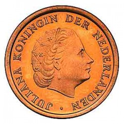 Koninkrijksmunten Nederland 1 cent 1972