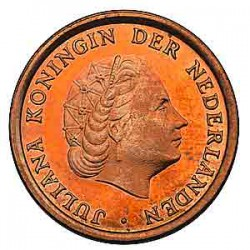 Koninkrijksmunten Nederland 1 cent 1974