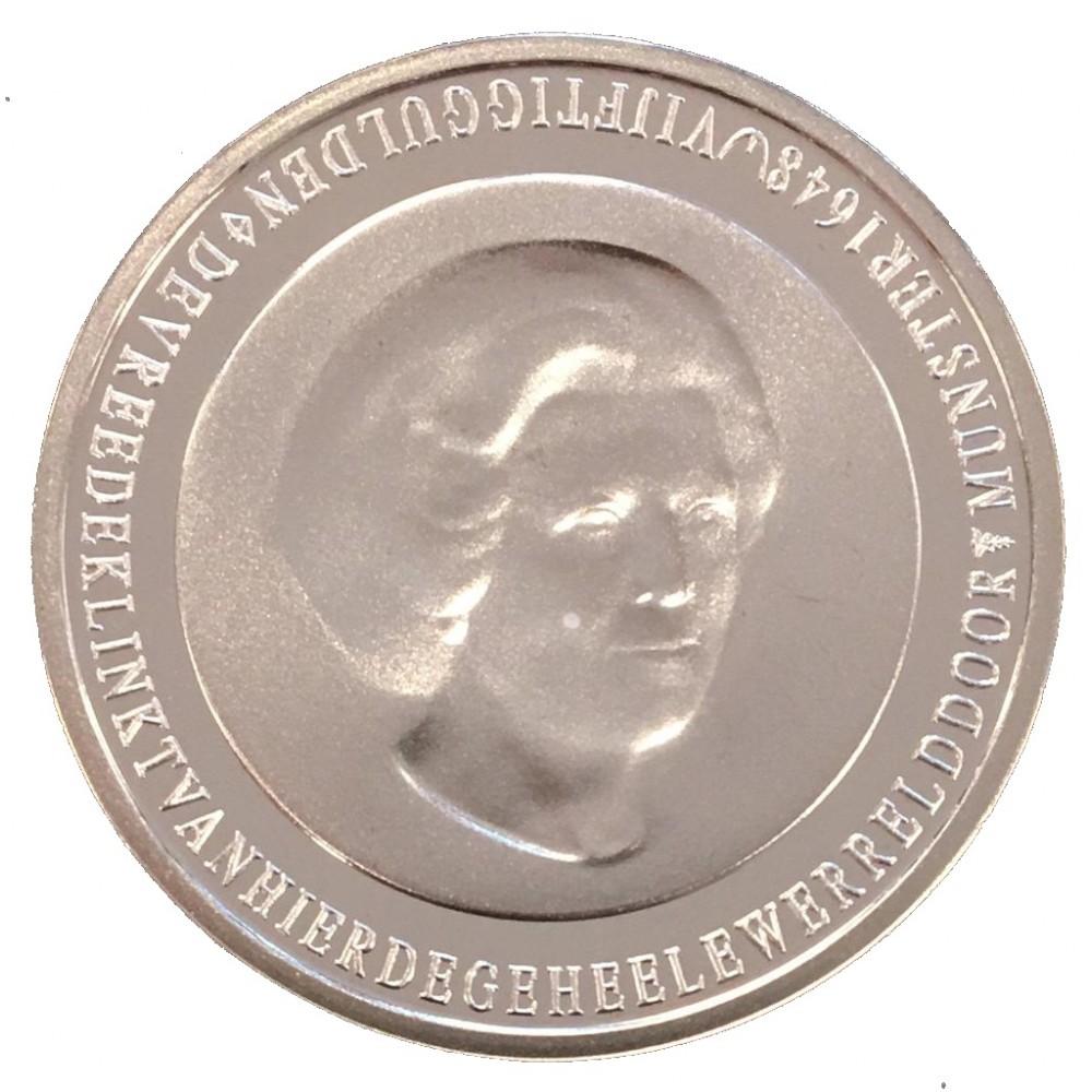 Koninkrijksmunten Nederland Complete serie Beatrix 50 gulden 1982-1998