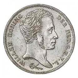 Koninkrijksmunten Nederland 1 gulden 1831/1821 U