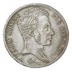 Koninkrijksmunten Nederland 1 gulden 1832/1821