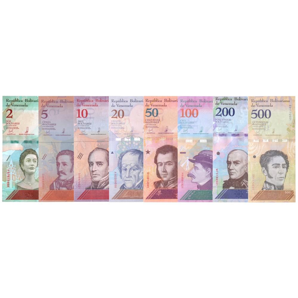 Venezuela serie Bolivares 2018