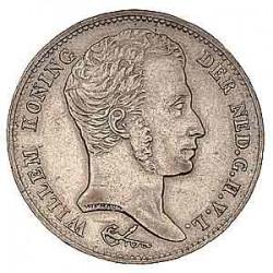 Koninkrijksmunten Nederland 1 gulden 1829 B