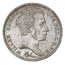 Koninkrijksmunten Nederland 1 gulden 1837 U