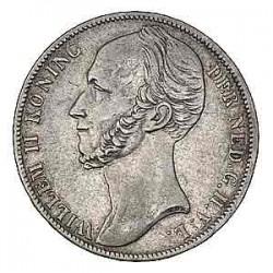 Koninkrijksmunten Nederland 1 gulden 1843