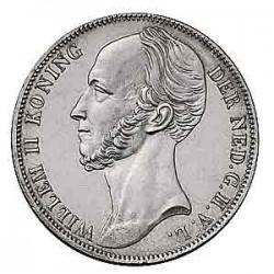 Koninkrijksmunten Nederland 1 gulden 1845