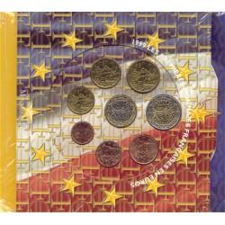 Frankrijk BU-Sets 1999/2000/2001 trippelset