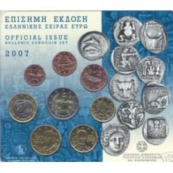 Griekenland BU-Set 2007