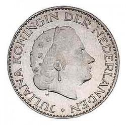 Koninkrijksmunten Nederland 1 gulden 1964