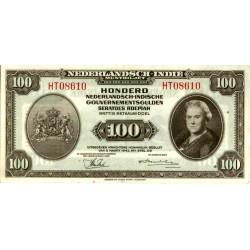Nederlands Indië 100 gulden 1943