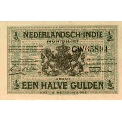 Nederlands Indië ½ gulden 1920