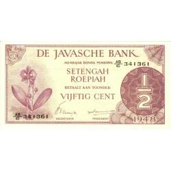 Nederlands Indië ½ gulden 1948