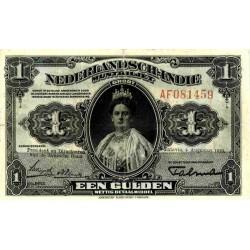 Nederlands Indië 1 gulden 1919