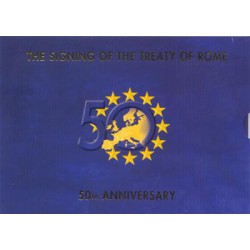 Ierland BU-Set 2007 Speciale uitgifte van het Verdrag van Rome