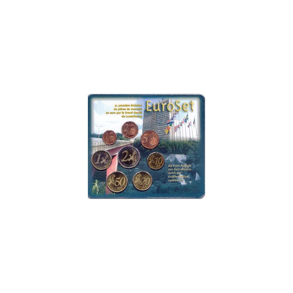 Luxemburg BU-Set 2002 Uitgifte Koninklijke Nederlandse Munt