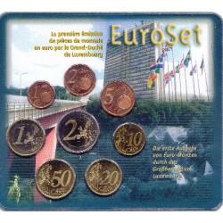 Luxemburg BU-Set 2002