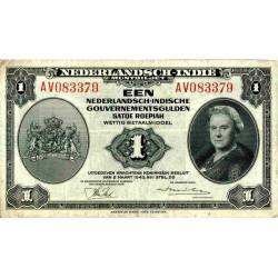 Nederlands Indië 1 gulden 1943