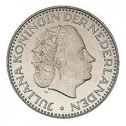 Koninkrijksmunten Nederland 1 gulden 1969 haan
