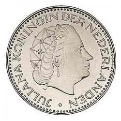 Koninkrijksmunten Nederland 1 gulden 1969 vis