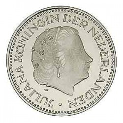 Koninkrijksmunten Nederland 1 gulden 1971