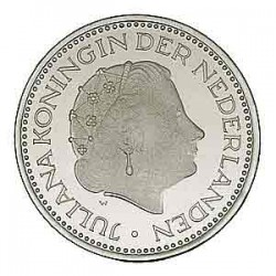 Koninkrijksmunten Nederland 1 gulden 1976