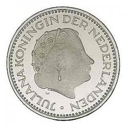 Koninkrijksmunten Nederland 1 gulden 1977