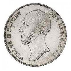 Koninkrijksmunten Nederland ½ gulden 1847