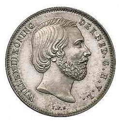 Koninkrijksmunten Nederland ½ gulden 1850