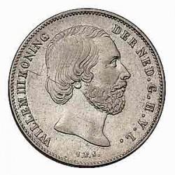 Koninkrijksmunten Nederland ½ gulden 1857