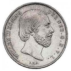 Koninkrijksmunten Nederland ½ gulden 1866