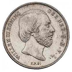 Koninkrijksmunten Nederland ½ gulden 1868