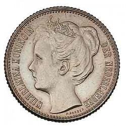 Koninkrijksmunten Nederland ½ gulden 1906