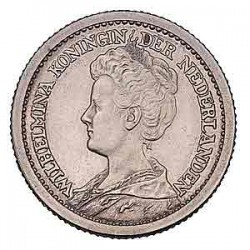 Koninkrijksmunten Nederland ½ gulden 1910