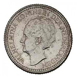 Koninkrijksmunten Nederland ½ gulden 1921