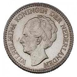Koninkrijksmunten Nederland ½ gulden 1930