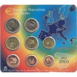 Spanje BU-Set 2003