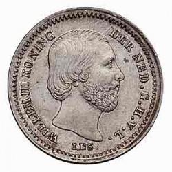 Koninkrijksmunten Nederland 5 cent 1850