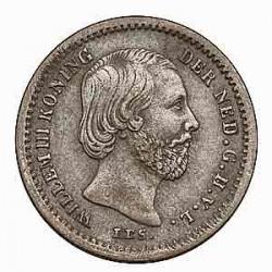 Koninkrijksmunten Nederland 5 cent 1855