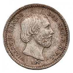 Koninkrijksmunten Nederland 5 cent 1863
