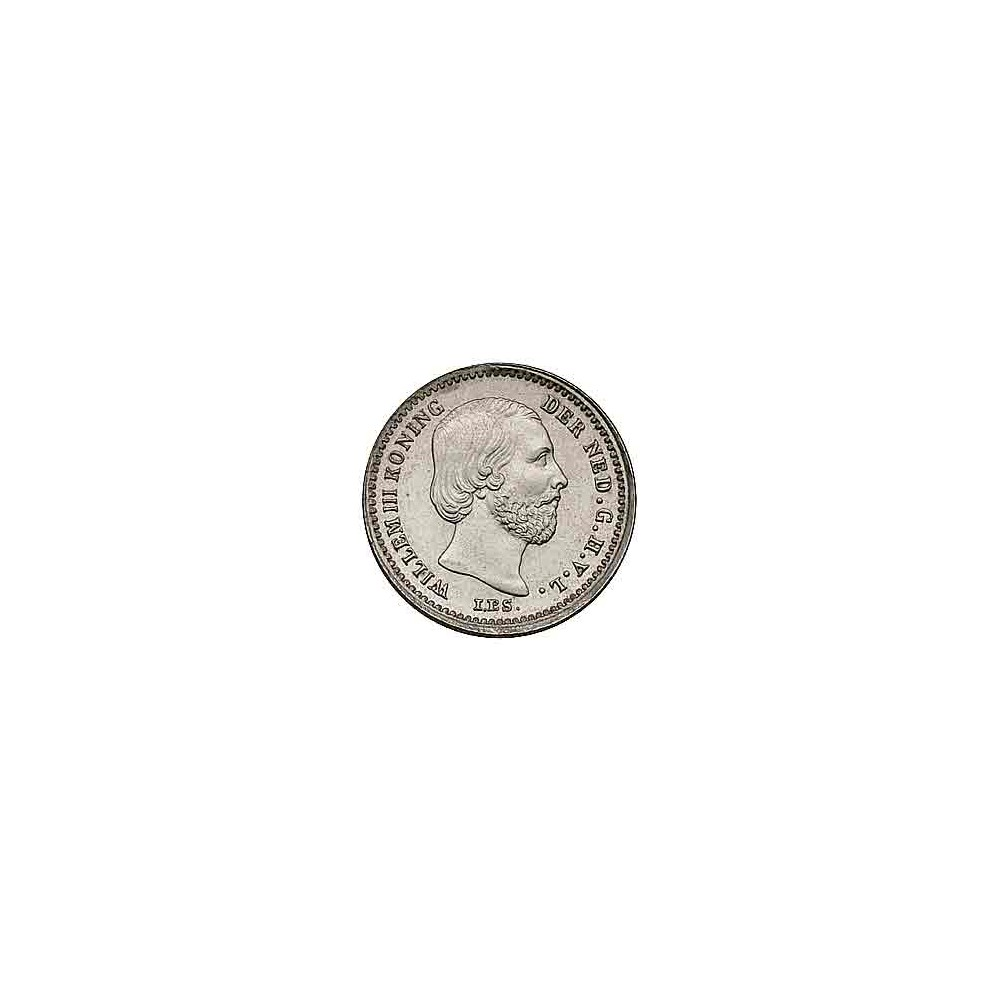 Koninkrijksmunten Nederland 5 cent 1868