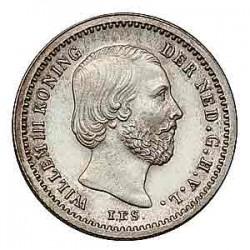 Koninkrijksmunten Nederland 5 cent 1887